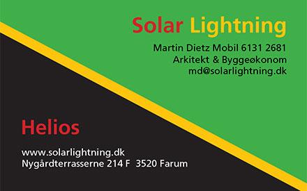 om Solar Lightning