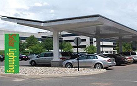 parkeringsanlæg el-biler